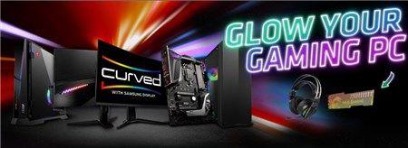 "Khuyến mãi MSI - ""Glow your Gaming PC"""