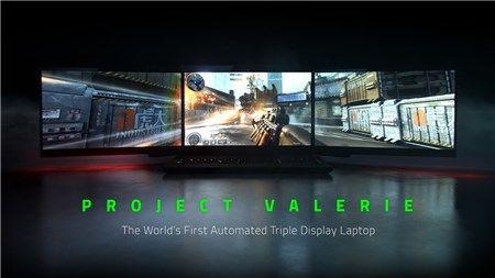 """Tự chế laptop 3 màn hình độc đáo giống """"siêu phẩm"""" Project Valerie của Razer"""