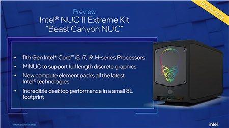 THỬ NGHIỆM CPU Intel Core i9-11900KB Tiger Lake trên NUC 11 Extreme