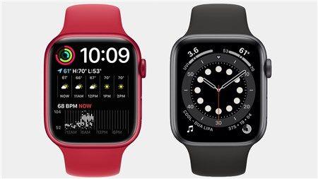So sánh điểm khác biệt giữa Apple Watch Series 7 và Series 6