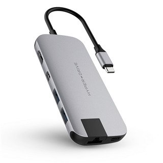 Cổng chuyển Hyperdrive SLIM USB-C Multi Port Hub  for MacBook, PC & Devices