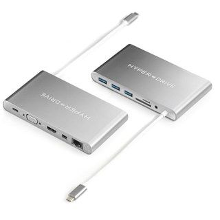 Cổng chuyển Hyperdrive Ultimate USB-C Hub  for MacBook pro, PC & Devices (GN30)