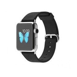 Apple Watch Stainless Steel 38mm Black Classic Buckle