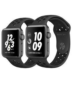 Apple watch NIKE+ Anthracite/Black Nike Sport Band