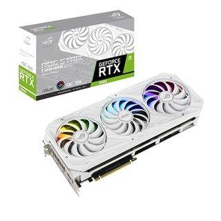 ASUS ROG Strix GeForce RTX 3080 White OC 10GB