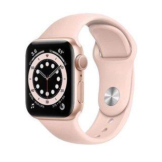 Apple Watch Series 6 Gold Aluminum, Pink Sand Sport, GPS 40mm