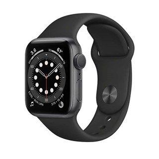 Apple Watch Series 6 Space Gray Aluminum, Black Sport, GPS 40mm