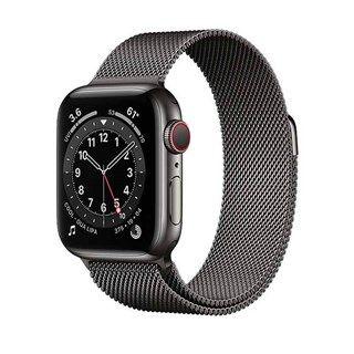 Apple Watch Series 6 Graphite Stainless Steel, Milanese Loop, LTE 40mm