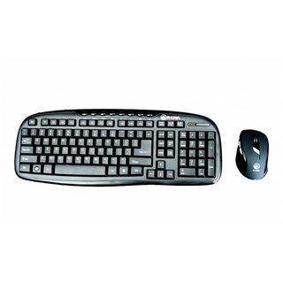 Bộ phím chuột không dây E-DRA EC888BK