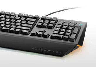 Alienware advanced gaming keyboard AW568 - Built for responsiveness, designed for comfort