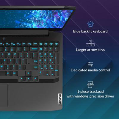 Lenovo IdeaPad Gaming 3 - Blue backlit keyboard