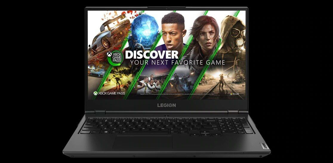 Lenovo Legion 5 with Xbox Game Pass for PC