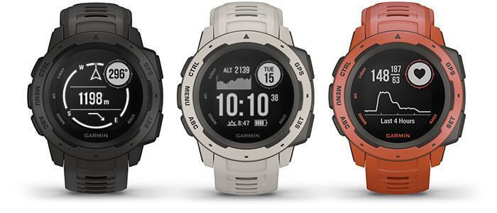 Garmin Instinct Colors